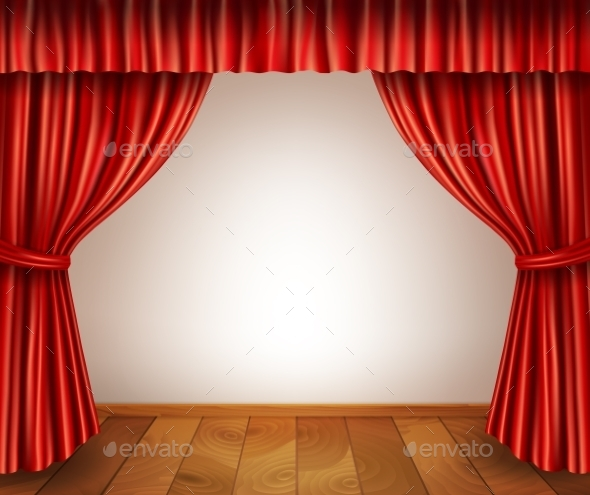 GraphicRiver Theater Stage Background 9615076