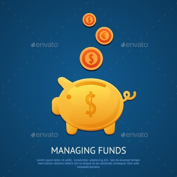 GraphicRiver Piggy Bank Poster 9615203