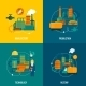 Flat Factory Set - GraphicRiver Item for Sale