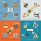Security Icons Set Flat - GraphicRiver Item for Sale