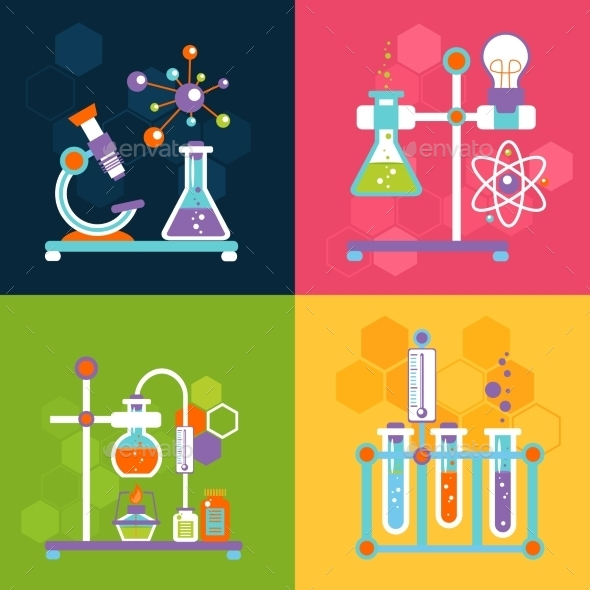 GraphicRiver Chemistry Design Concepts 9615495
