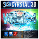 32 Cyrstal 3D_Bundle (Vol.1-4) - GraphicRiver Item for Sale