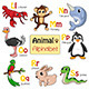 Alphabet Animals from L to S - GraphicRiver Item for Sale
