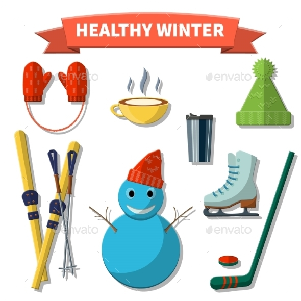 GraphicRiver Healthy Winter 9615946