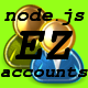 NodeJs Ez Accounts - CodeCanyon Item for Sale