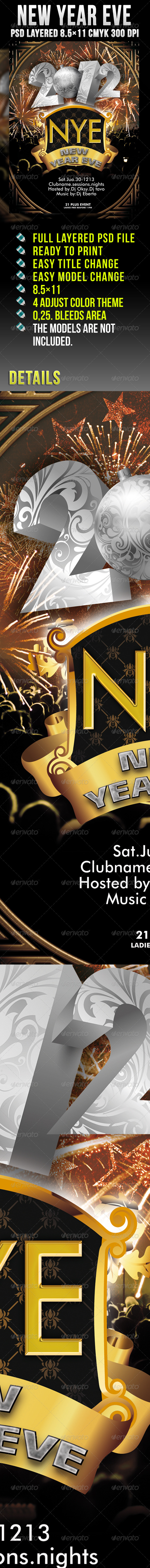 GraphicRiver New Year Eve 976737