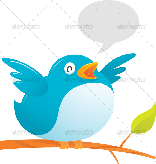 GraphicRiver Fat Twitter Bird 40206