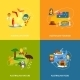 Australia Icons Set Flat - GraphicRiver Item for Sale