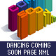 Dancing Coming Soon Page XML - ActiveDen Item for Sale