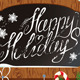 Christmas Wooden Chalkboard  - GraphicRiver Item for Sale