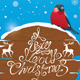 Bullfinch Christmas Card - GraphicRiver Item for Sale