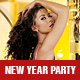 New Year Girls Night Out Party - GraphicRiver Item for Sale