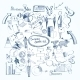 Business Doodle Set - GraphicRiver Item for Sale