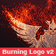 Burning Logo Reveal v2 - VideoHive Item for Sale