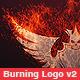 Burning Logo Reveal v2 - VideoHive Item for Sale