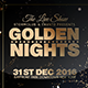 Golden Nights - GraphicRiver Item for Sale