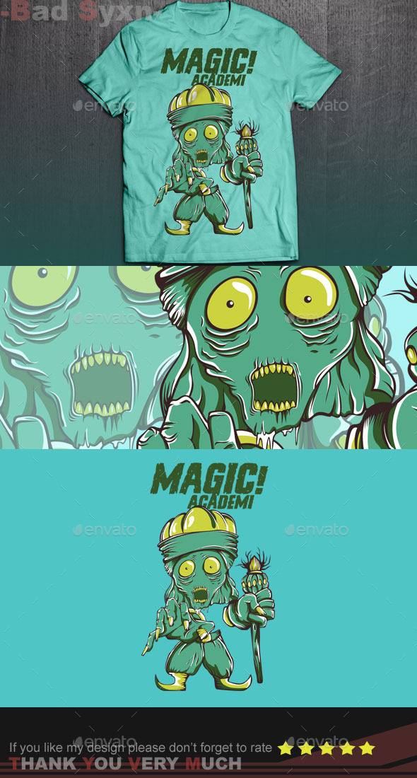 GraphicRiver Magic Akademi 9616587