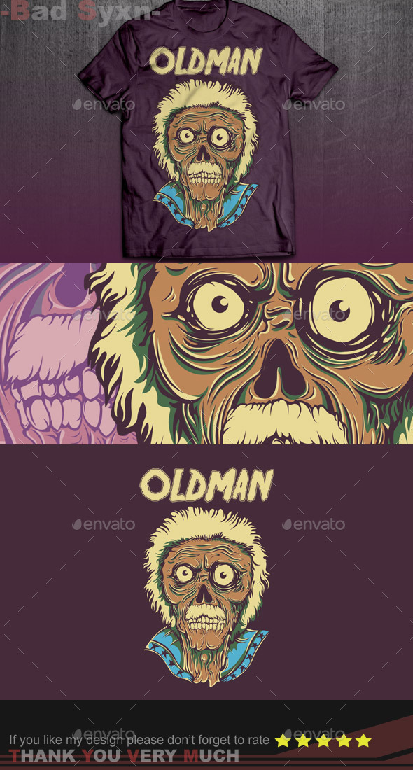 GraphicRiver Oldman 9616619