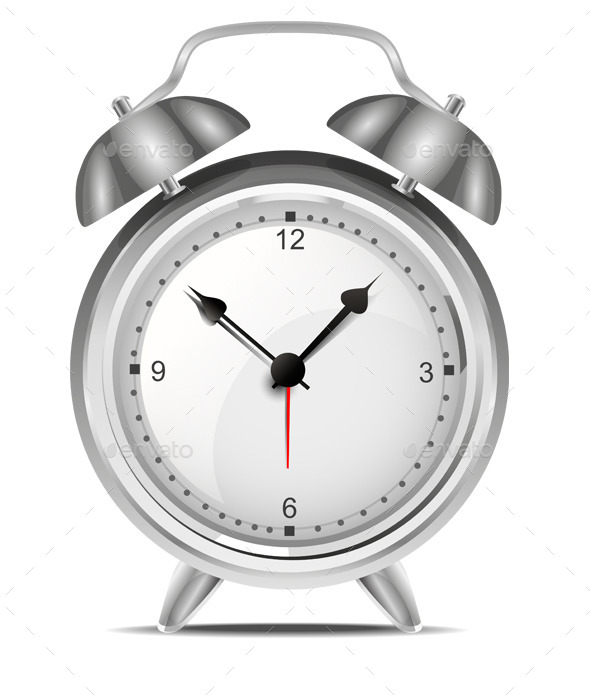 GraphicRiver Alarm Clock Vector 9616998