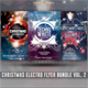 Christmas Electro Flyer Bundle Vol. 2 - GraphicRiver Item for Sale