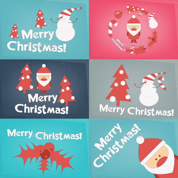 GraphicRiver Merry Christmas Greeting Card 9617730