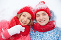 Couple in snow - PhotoDune Item for Sale