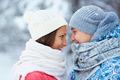 Sweethearts in winterwear - PhotoDune Item for Sale