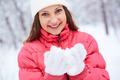 Girl in winterwear - PhotoDune Item for Sale