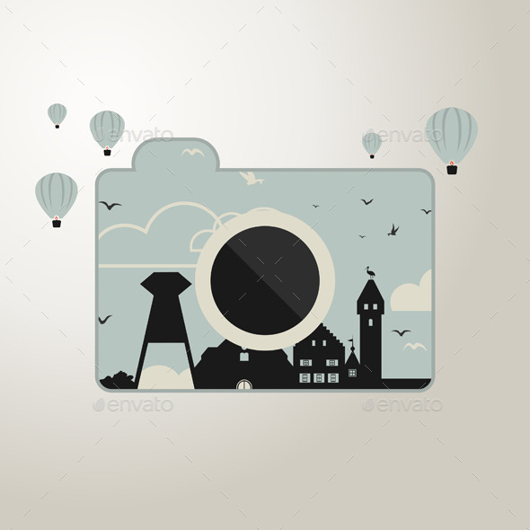 GraphicRiver Photo Camera 9617869