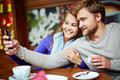 Selfie in cafe - PhotoDune Item for Sale