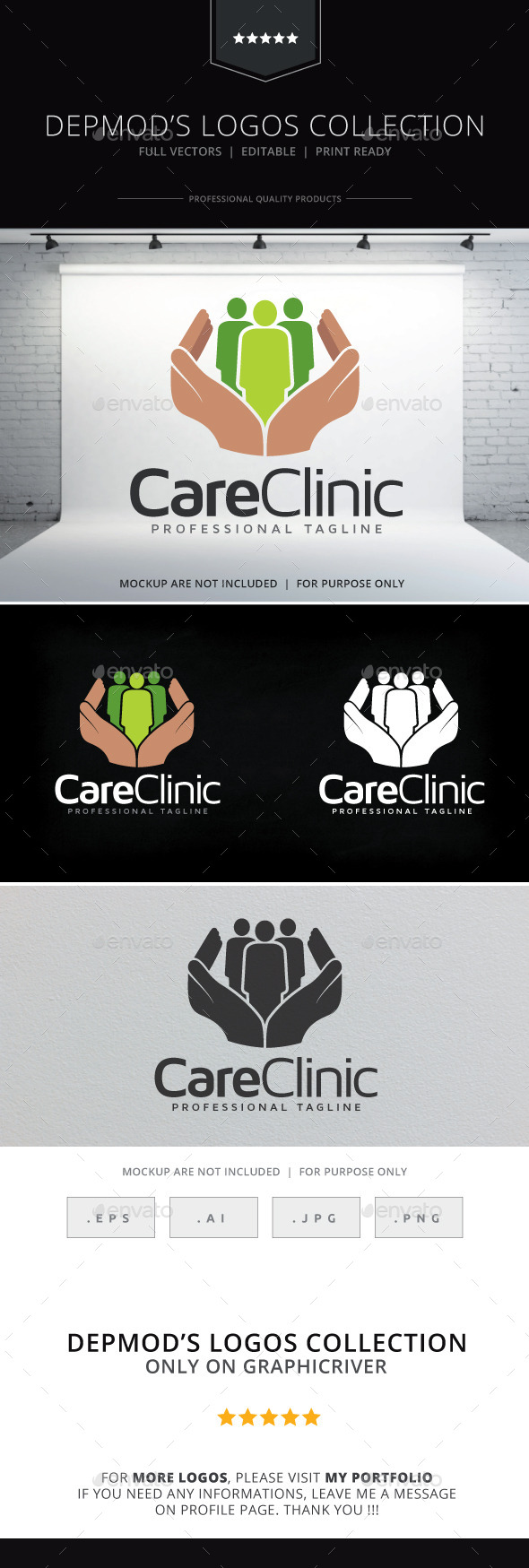 GraphicRiver Care Clinic 9617913