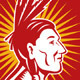 Native American Indian Chief Side - GraphicRiver Item for Sale