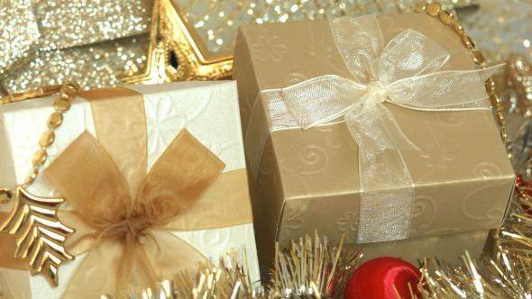 Gift Box And Christmas Decoration 05