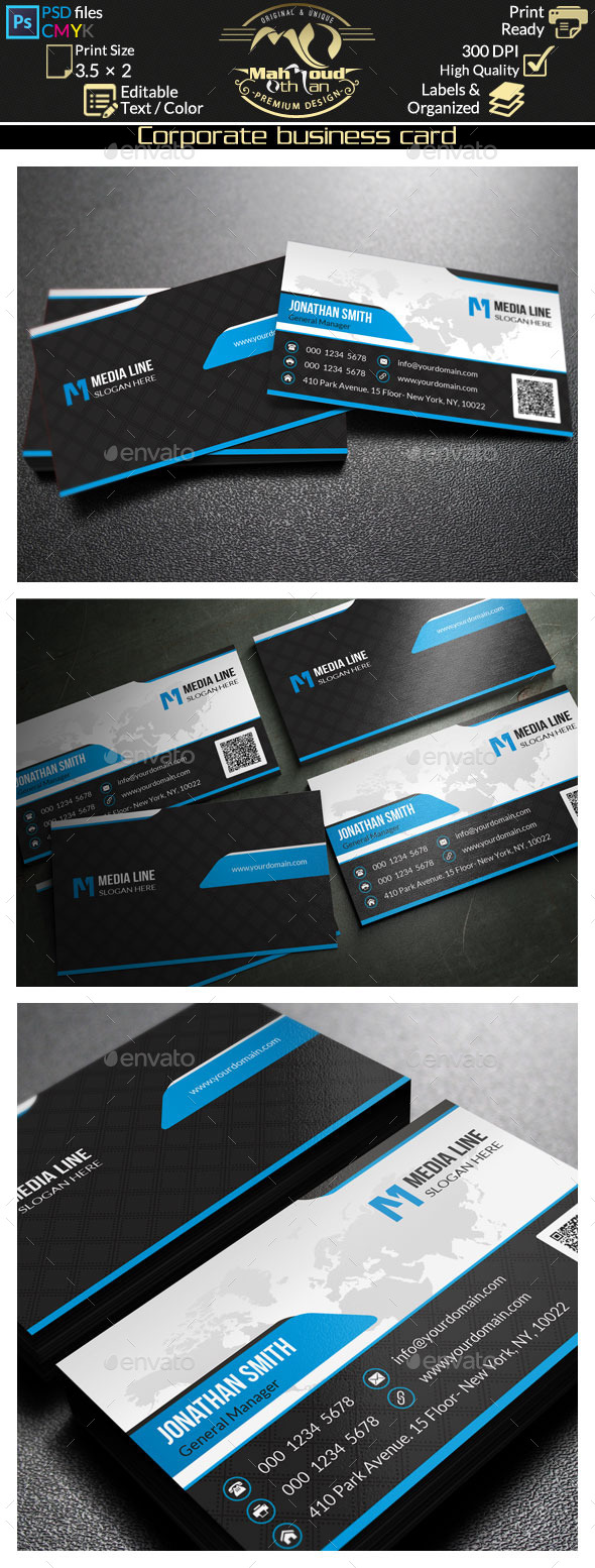 GraphicRiver Corporate Business Card 62 9618072