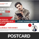 Global Business Postcard Template - GraphicRiver Item for Sale