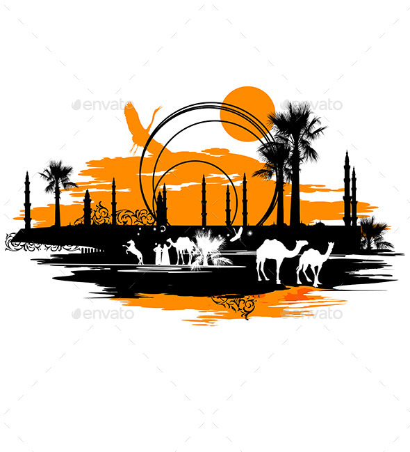 GraphicRiver Camels 9618333
