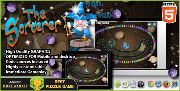 The Sorcerer HTML5 Game