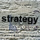 Strategy text on grunge background - PhotoDune Item for Sale