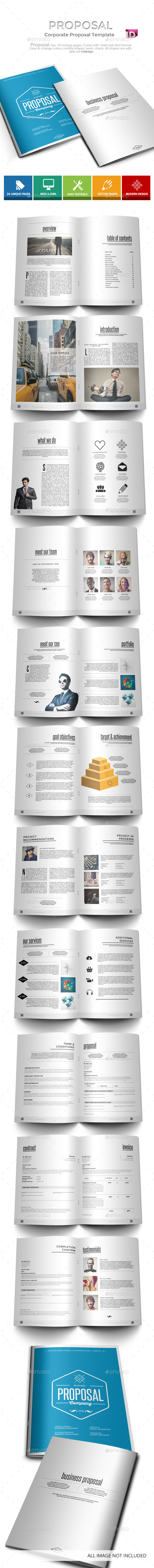 GraphicRiver Proposal Business Proposal Template 9618999