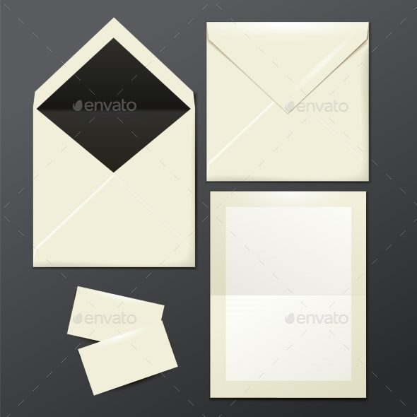 GraphicRiver Envelopes Paper and Postage 9619159