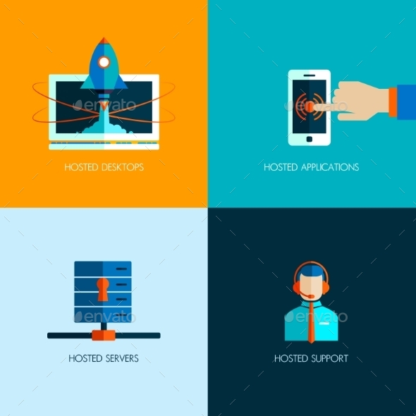 GraphicRiver Set of Business Icons 9619331