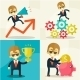 Businessman with Piggy Bank - GraphicRiver Item for Sale