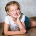 little girl laying on floor - PhotoDune Item for Sale