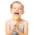 Little girl with lollipop - PhotoDune Item for Sale
