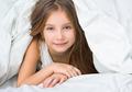 Beautiful little girl under a blanket - PhotoDune Item for Sale