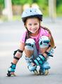 Girl on roller skates - PhotoDune Item for Sale