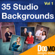 35 Studio Backgrounds - GraphicRiver Item for Sale