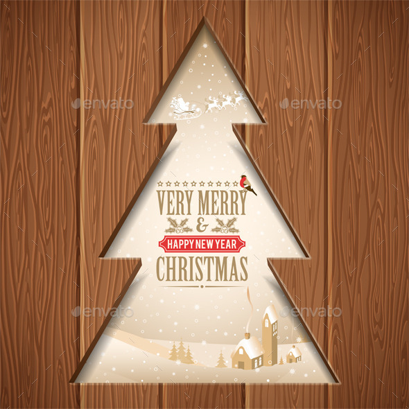 GraphicRiver Christmas Concept 9622908