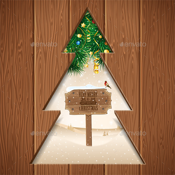GraphicRiver Christmas Concept 9622917