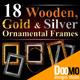 18 Hi-Res Ornamental Frames - GraphicRiver Item for Sale